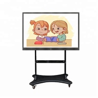 65 inch Low Price interactive multi touch screen displays lcd smart board tv