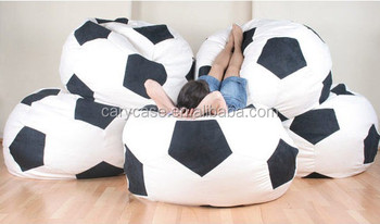 Outdoor Kids Football Shape Bean Bag Funny Chair