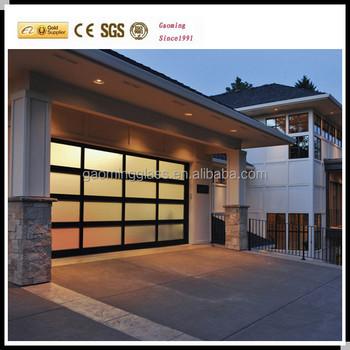 Delicieux Poly Glass Door,folding Plastic Garage Door For House,glass Panel Garage  Door