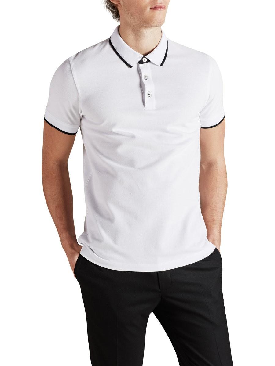 Shirt design for man 2017 - 2017 Short Sleeve New Design Polo T Shirt Slim Fit For Man