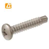 Combination pan head philips slotted bolt screw