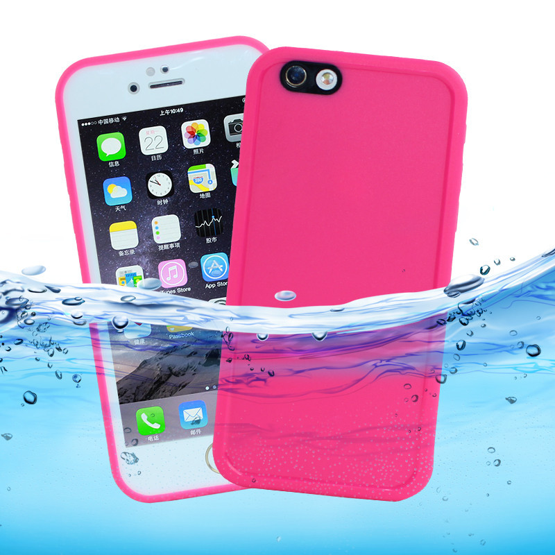 Wholesale Full Body Protected Shockproof Durable Hybrid Rubber TPU Waterproof Radiating Mobile Phone <strong>Case</strong> for iphone 678plus x