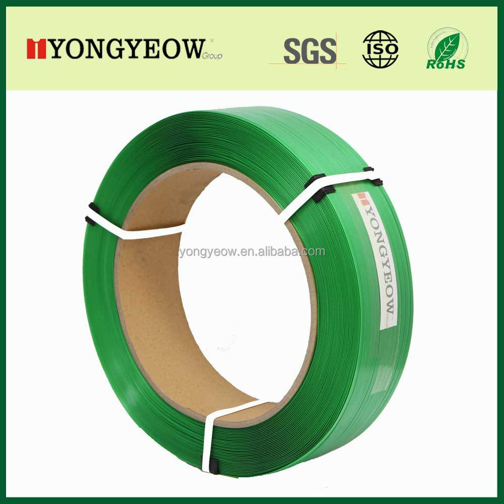 High Tensile polyester Strapping green PET Strapping Band