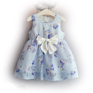One-piece Dress Latest Children Frocks Designs Kids Dress on sale