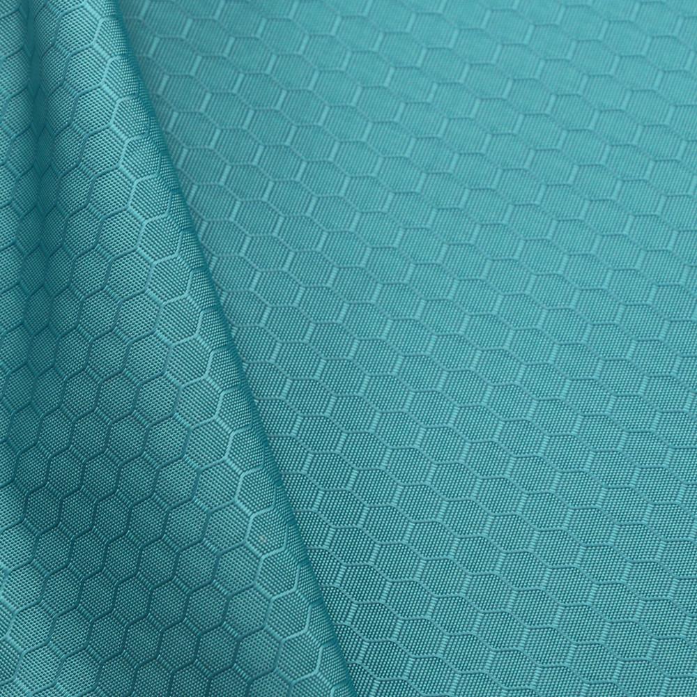 Tela nylon impermeable recubierto pu material 2oz-Plata