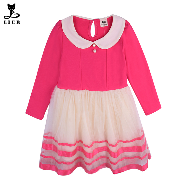 get quotations new children cotton tulle princess dresses girls casual party dress 2015 autumn kids long sleeved