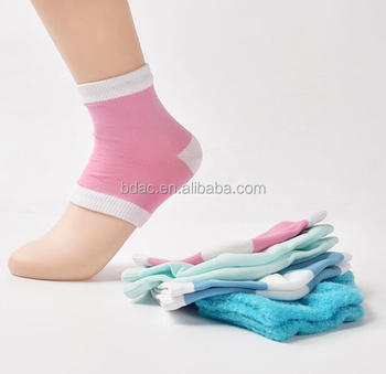 foot care socks heel part with gel plantar fasciitis foot compression sleeves