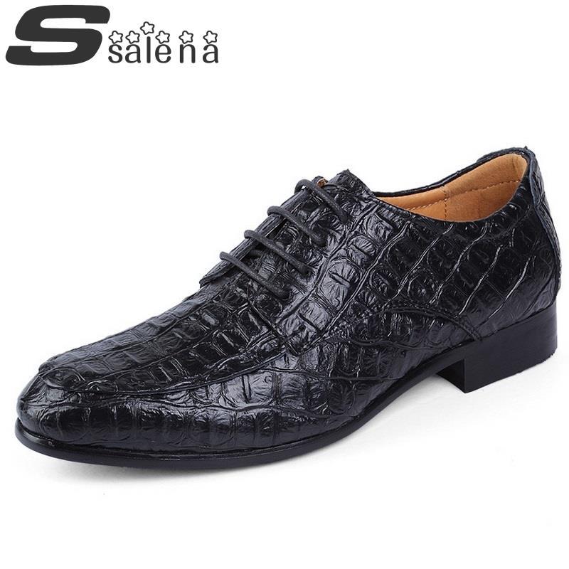 Alligator Dress Shoes For Men 16