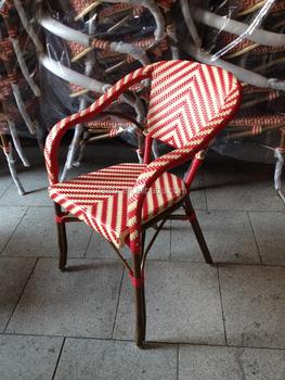 Cheap Rattan Bistro Chair Bamboo Chair For Singapore