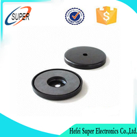Permanent Type and Round Shape ferrite pot magnet from China
