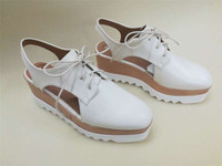 CX448 women high platform lace up sandle shoe
