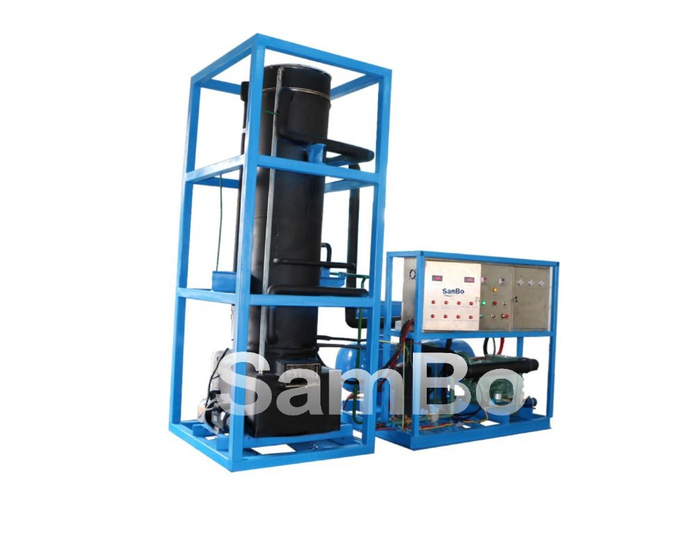 Newest tube ice plant compressor ice crusher