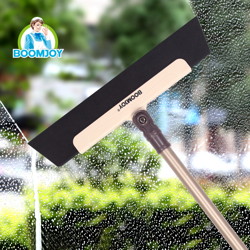 BOOMJOY EVA Broom Mop, Rubber Broom Wiper and Scraper