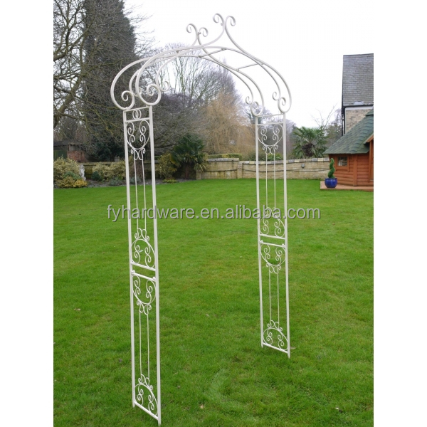 7.5ft garden arch iron wrought Material and decorative arbor