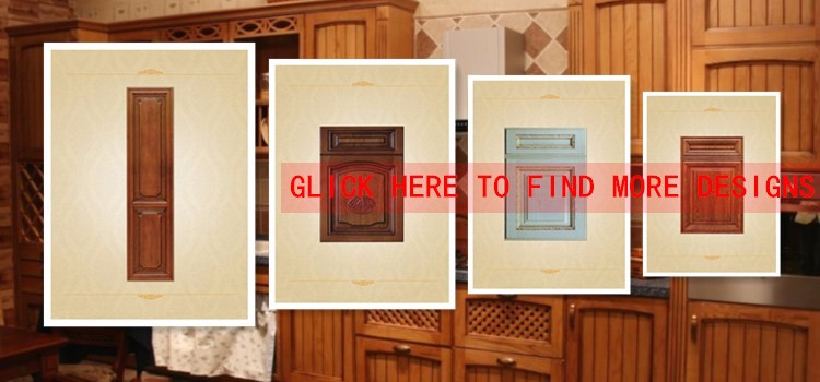 Solid Wood Shutter Shape Wardrobe Door