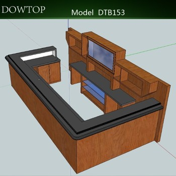 Dtb153 Fashion 3d Drawing Wine Bar Counter Buy Wine Bar