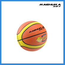 MACHUKA Latest Team Sports Colorful Printed Rubber Practice Basketball