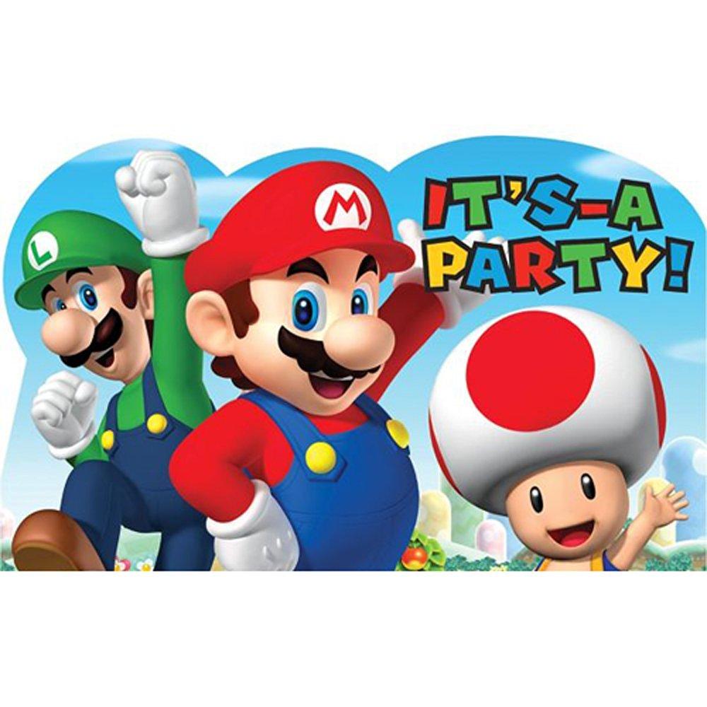 Cheap Mario Invitations, find Mario Invitations deals on line at ...