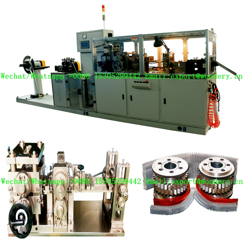 Automobile Radiator  Fin  Machine
