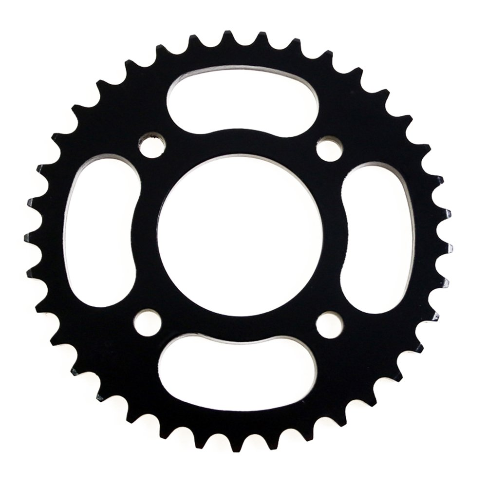 48mm Center Hole #420 4-Bolt For DIRT BIKE Pit Bike 37-Tooth Rear Sprocket