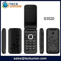 2.4inch QVGA S3520 Colorful Flip Cell Phone for Girls