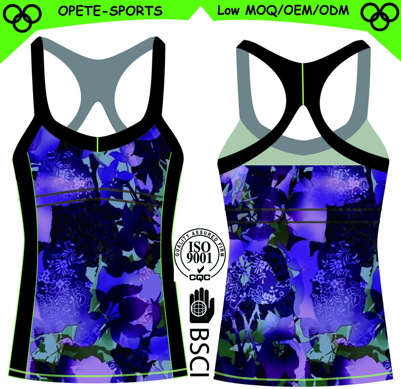 (Trade Assurance)Women's Ladies Seamless Sports Tops Yoga Athletic Vest Woman Sport Tank Top with Quality Assured