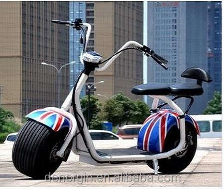 China EEC Citycoco Style Electric Scooter 1000w 60v 20ahm Fat Tire Electric Bike