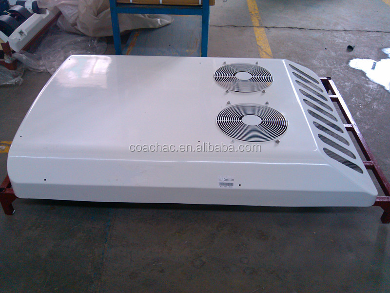 KT-12 12v/24 volt 12Kw roof mounted van air conditioner / conditioning rooftop unit for van, minibus