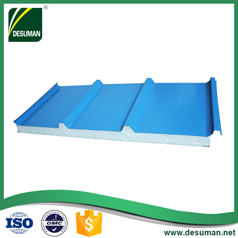 Best price m2 roof polystyrene eps sandwich panels garage wall panel for sale in egypt