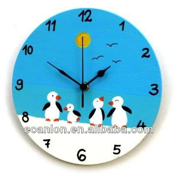 Acrylic Clock Wall Clocks Plexiglass Clock Acrylic Clock - Wall clock for kids room