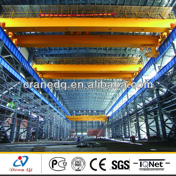 10ton,15ton,20ton,30ton,50ton,80ton steel factory used 20 ton double girder overhead crane for sale