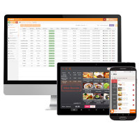 Free shipping pos software retail/restaurant/grocery/cafe/bar cash register pos system software