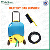 (73880) 16l battery powered portable easy-taken wheel mobile car steam washer
