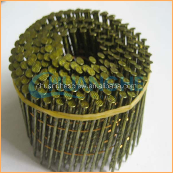 HOT! sale High quality cheap gauge 14 coil nail product made in China suppliers (manufacturer)