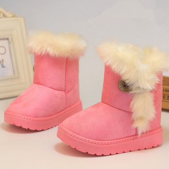 New model girl warm snow boot kids boots for winter buy for New model boot