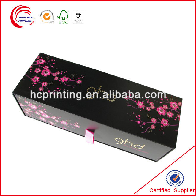Ribbon pull head drawer flat iron box for buyer