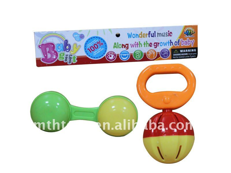 Funny Baby Rattels with 3 styles toys rattle