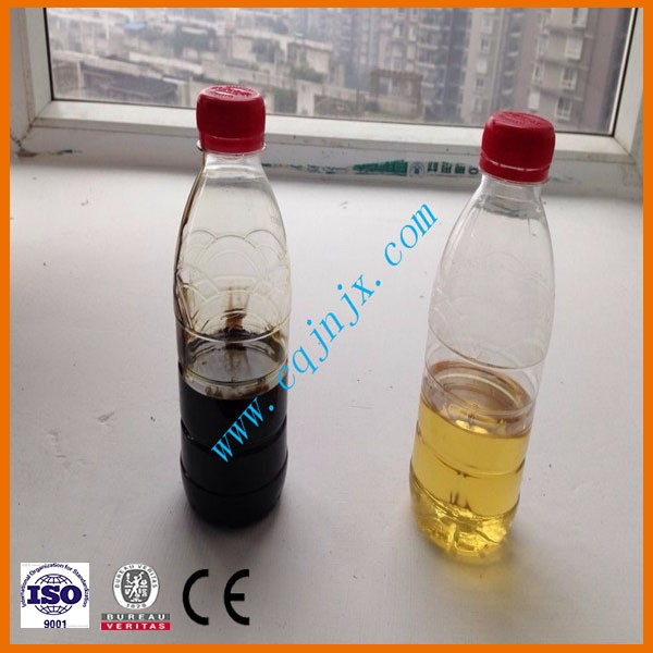 ZSA Oil Recovery/Black Used Lube Oil Regeneration to Yellow Base Oil Unit