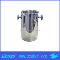 off-price Stainless steel small blink ice bucket with handles