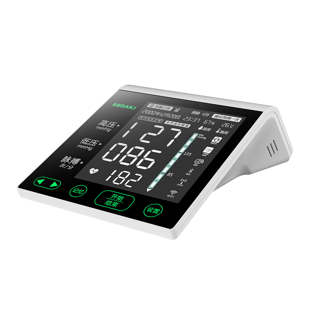 Medical Full-touch Automatic Digital Wrist Electronic Blood Pressure Monitor
