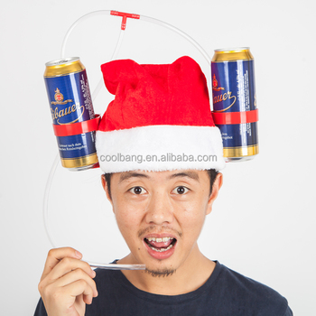 2016 New Style Unique Drinking Christmas Beer Hat - Buy Beer Hat ...