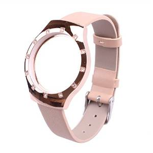 Misfit Shine Band, New Sports Tracker Bracelet Strap Original Matched Leather Replacement Wrist Strap Genuine Leather to Prevent the Loss of Smart Watch Watchbands