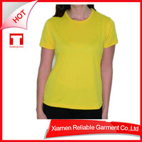 24S Promotional Top Quality 100% cotton t-shirt women fashion