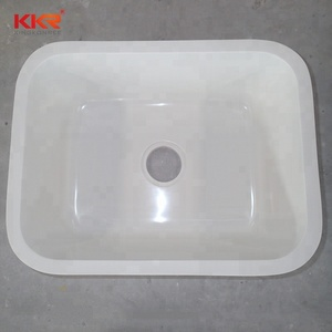 Solid Surface Undermount White Kitchen Sinks Quartz Composite Kitchen Sinks
