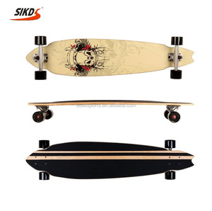 41*9.5inch cruiser longboards maple skateboard cruiser longboard