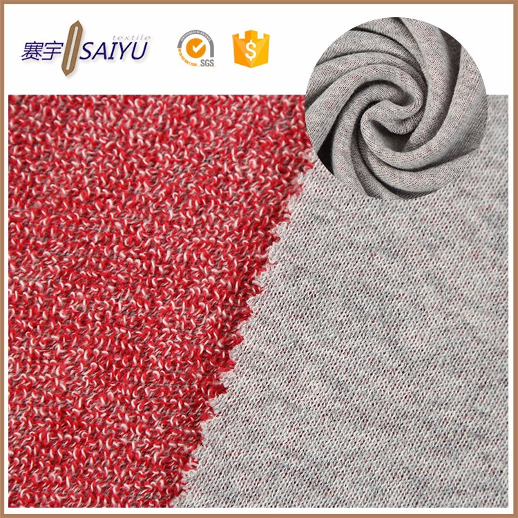 wholesale cheap yarn dye 100% combed cotton french terry fabric yard