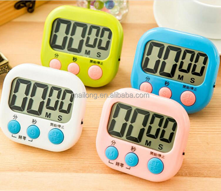 Plus or minus timer kitchen timer convenient reminders large-screen electronic timer a stopwatch