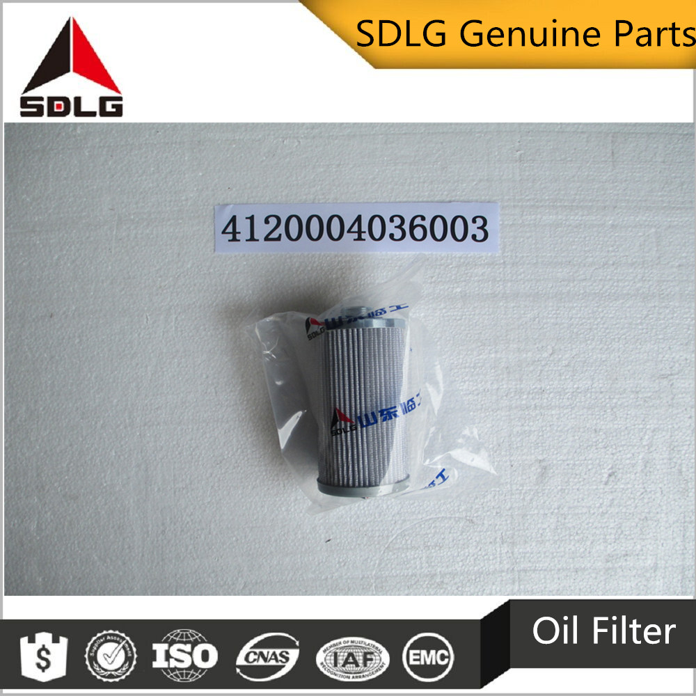 SDLG spare parts transmission oil filter 4120004036003 for G9138&G9165&G9180&G9190&G9200&G9220