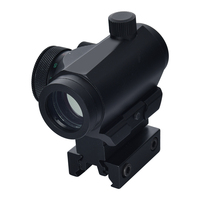 Green Dot Sight With High Riser Mount Pistol Air Gun Accessories Military Rifle Scope Red Dot Reflex Sight