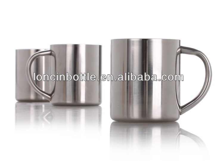 8oz Tumbler Stainless Steel Double Wall Insulated Travel Mug Coffee Beer Cups